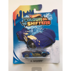 Машинки Mattel Hot Wheels BHR15/BHR28 Colour Shifters El Superfasto