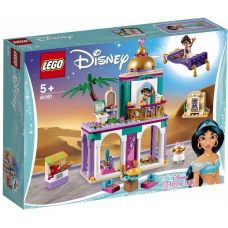 Конструктор Lego(лего)Disney Princess 41161 Приключения Аладина и Жасмин во дворце